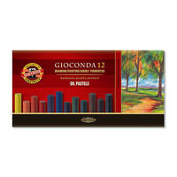Koh-I-Noor 8532 Gioconda Assorted Colour Oil Pastels - Boxed Sets of 12 & 24