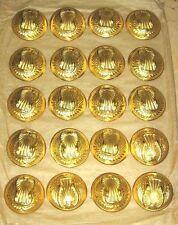 ensemble de 20 Boutons modele 1934 pour Capote Armée de l'Air   - diamètre 24mm