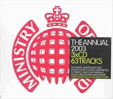 The Annual 2004 [Limited] by Various Artists (CD, Nov-2003, 3 Discs, Ministry...