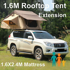 Rooftop Roof Top Tent 3.1x1.6M Camper Trailer 4WD 4X4 Camping Car Rack Ladder