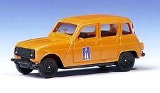 Renault 4 L  Autoroute Orange   Herpa 1/87 ème - HO