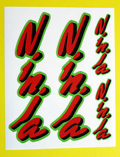 KAWASAKI NINJA Motorbike Motorcycle Fork Decals Stickers