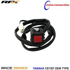 RFX RACE SERIES OEM TYPE KILL SWITCH KILL BUTTON FOR YAMAHA YZF250 YZF450 2012