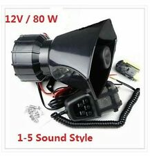 Fast ship U S A !! 80W/12V/Car Speakers Police Megaphone Siren Speaker with MIC