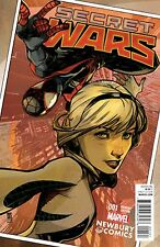 SECRET WARS 1 ALEX MALEEV NEWBURY VARIANT SPIDER-GWEN SPIDERMAN AVENGERS