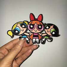 the powerpuff girls cenius  patch embroidered patch iron on patch sew on patches