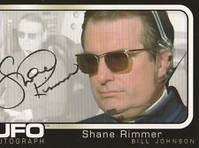 UFO - UK TV Series - Autograph Trading Card - SHANE RIMMER (Bill Johnson)