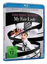 REX HARRISON/AUDREY HEPBURN - MY FAIR LADY REMASTERED  BLU-RAY NEW+