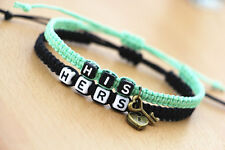 Couple Bracelet, His Hers Braclet, Boyfriend Girlfriend Gift, Lover's  CP-374