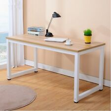 Modern Wooden Desk Simpilify Home Office Computer Workstation PC Study Table UK