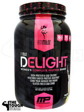 FIT MISS - DELIGHT 2lbs VANILLA CHAI - WOMEN'S COMPLETE HIGH PROTEIN SHAKE