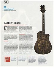 Dean Resonator Thin Body Cutaway Bass Guitar Sound Check Review 8 x 11 article