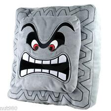 SUPER MARIO BROS. TWOMP PELUCHE - 22Cm. - Plush Thwomp Dossun Cushion Pillow