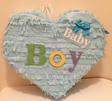 Baby Boy Heart Piñata