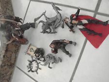 Spawn Mcfarlane Action figure lot Tremor 2. hunchback,Silver violator,girl