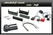 Einbaurahmen für AUDI A2 A4 TT (8N)  Radioblende + Antennenadapter + Aktivsystem