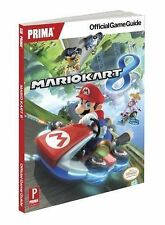 Mario Kart 8 Prima Official Game Strategy Guide Nintendo Wii -Book8Y