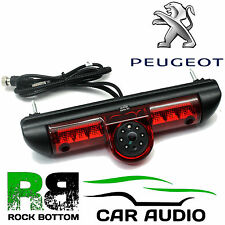 Peugeot Boxer Van MK2 2006 LED Brake Light & Rear View Reversing Camera CAM-PG1