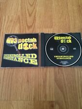 Inspectah Deck Uncontrolled Substance CD PROMO Wu-Tang Clan Red Man RZA