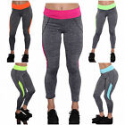 Damen Fitness Hose Workout Sporthose Yoga Pant Jogginghose Leggings Sporthose