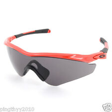 Oakley M2 Frame XL Sunglasses OO9345-02/OO934502 Red line/Gray Lens-Asia Fit