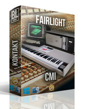 FAIRLIGHT CMI SAMPLE LIBRARY FOR LOGIC PRO EXS24 WAV SAMPLES VINTAGE