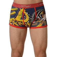 Ed Hardy Red Men's Eagle Has Landed Trunk - Small Underwear NWT New