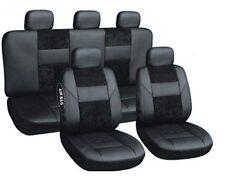 Lux Noir sitzbezüge Art-cuir siège auto housses FORD ESCORT transit Mondeo