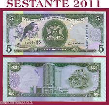 TRINIDAD & TOBAGO  -   5  DOLLARS   2006  sign. Williams -  P. 47   -  FDS / UNC