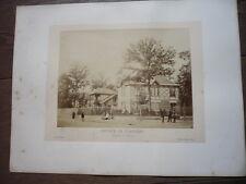 PHOTO 1866 BOIS DE VINCENNES PAR ILDEFONSE ROUSSET ENTREE DE FONTENAY