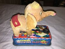 Vintage 1950'S Battery Operated Jumbo The Bubble Blowing Elephant Toy