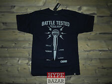 OSIRIS SHOES | BATTLE TESTED T-SHIRT NEU FARBE:NAVY GR: L OSIRIS SHOES NYC 83