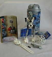 LEGO TECHNIC BIONICLE KOPAKA #8536 - RETIRED - COMPLETE IN CAN WITH INSTRUCTIONS