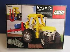 lego 8849 vintage TECHNIC TRACTOR SPREADER set COMPLETE instructions BOXED D34