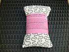COTTON MICROWAVE LAVENDER WHEAT BAG LONG NECK BACK PAIN RELIEF AROMATHERAPY