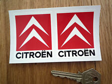 CITROEN Classic Chevron Racing Rally Car STICKERS 50mm Saxo Sport GTi Xsara C2