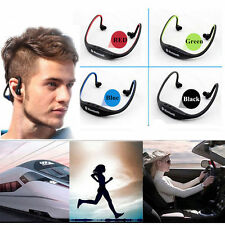 Bluetooth Wireless Headset Headphone Sport Earphone Handfree for iPhone7 Samsung