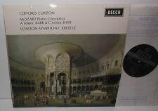 SXL 6354 Mozart Piano Concertos Nos. 23 & 24 Clifford Curzon LSO Kertesz WB