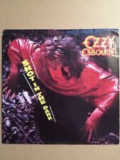 "Ozzy Osbourne 7"" vinyl record 45 rpm- Shot In The Dark & You Said It All"