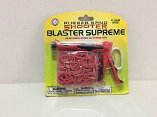 Rubber Band Shooter Blaster Supreme Keychain Toy & Pen +Rubber Bands by Hog Wild