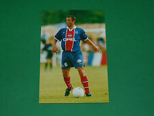 PHOTO CARTE PAUL LE GUEN PARIS SAINT-GERMAIN PSG 1997 1998
