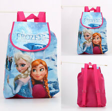 Adorable Frozen Elsa Anna Swimming Drawstring Storage Bag Backpack Baby Kids