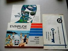 Evenrude Owners Manual 18HP Fastwin Mdoels 18304,18305- Printed 1972