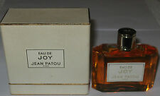 Vintage Jean Patou Eau De Joy Splash Bottle EDP in Box  - 1 1/2 OZ - Unused/Full