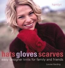 Hats Gloves Scarves: Easy Designer Knits for Family and Friends-ExLibrary