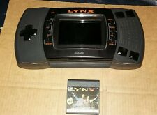 ATARI LYNX MARK 2 CONSOLE + 1 X GAME ! TESTED!