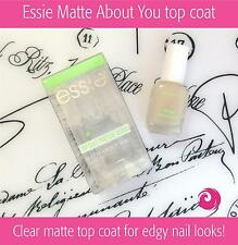 Essie Matte Top Coat | Essie Matte About You - new 2016 edition (Free Intl Ship)