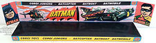 Custom Display Stand for CORGI Juniors Batman BATMOBILE - BATCOPTER - BATBOAT