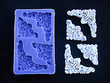 Silicone Mould ANGULAR ORNAMENTS Sugarcraft Cake Decorating Fondant / fimo mold
