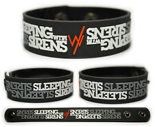 SLEEPING WITH SIRENS Rubber Bracelet Wristband Feel New